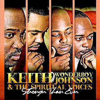Keith Johnson Wonderboy & de spirituele Voices - sterker dan ooit [CD] USA importeren