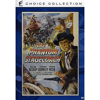 Phantom Stagecoach (1956) [DVD] USA import