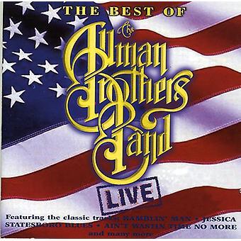 Allman Brothers Band - lo mejor de importación de Estados Unidos en vivo [CD]