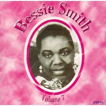 Bessie Smith - Bessie Smith: Vol. 7-komplet optagelser [CD] USA import