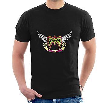 Ultimate Warrior RIP Logo Tribute T-Shirt voor mannen