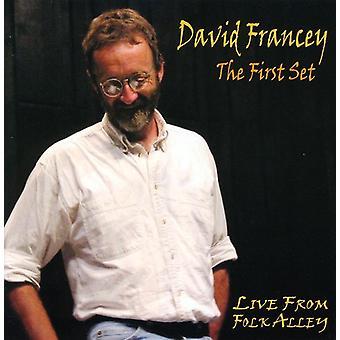 David Francey - første sæt-Live fra Folk Alley [CD] USA import
