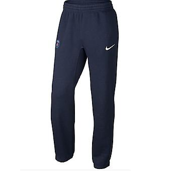 2015-2016 PSG Nike Core Fleece manchet broek (Marine)