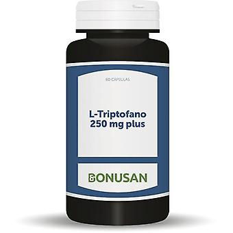 Bonusan L-Tryptophan 250mg. Plus 60 Cap. (Vitamins & supplements , Amino acids)