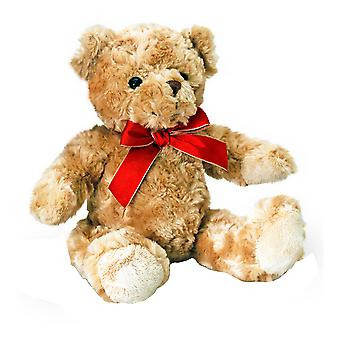 Keel Toys Traditional Plush Bear with Ribbon