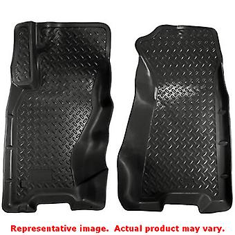 Husky Liners 30601 Black Classic Style Front Floor Line FITS:JEEP 1999 - 2004 G