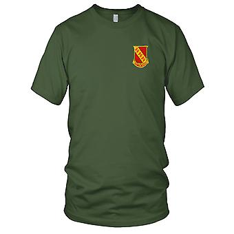 US Army - 315th Field Artillery Battalion Embroidered Patch - Mens T Shirt