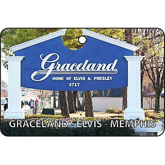 Graceland - Elvis - Memphis Car Air Freshener