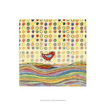 Veren Dots & strepen VII Poster Print by Ingrid Blixt (13 x 19)