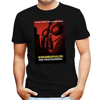 Rick And Morty Krombopulos The Professional Leon Mix Men's T-Shirt