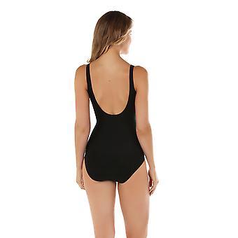Seaspray 12-2112 Women's Manhattan Black Shaping Swimsuit
