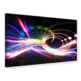 Canvas Print Abstract Light Reflections