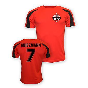 Camiseta de entrenamiento de Antoine Griezmann Atletico Madrid Deportes (rojo) - niños