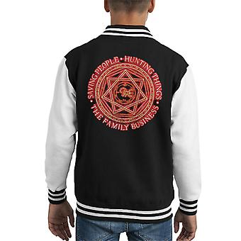 Supernatural The Family Business Kid's Varsity Jacket