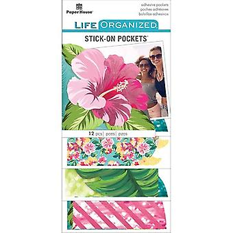 Paper House Life Organized Vellum Planner Pockets 12/Pkg-Embrace Today STPS-PKT-7E