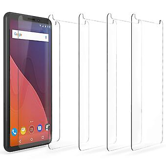 Wiko View / View Prime Screen Protector Pack | Set of 5 - Film Guards | UV Protection | Scratch Resistant | Screen Protectors For The Wiko View / View Prime - Crystal Clear