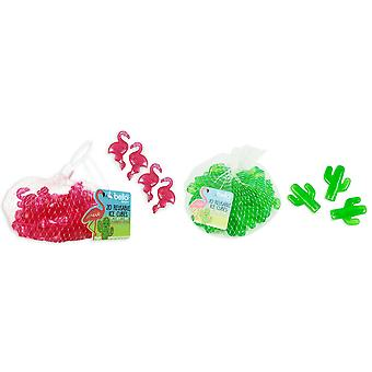 Reusable Ice Cubes Pack of 40 Great For Keeping Beverages Cool Party Supplies