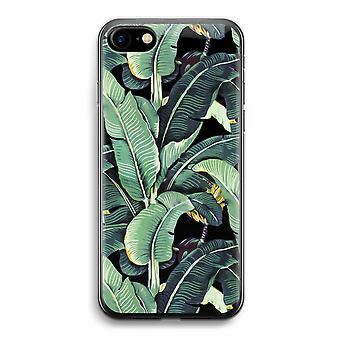 iPhone 7 Transparent Case (Soft) - Banana leaves