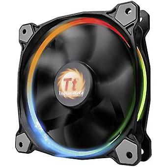 PC fan Thermaltake Riing 12 LED RGB Black (W x H x D) 120 x 120