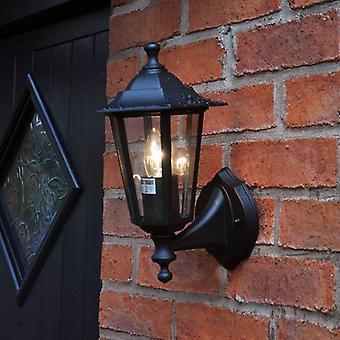 Kingfisher traditionell viktoriansk stil elnätet Powered Wall Light