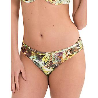LingaDore 2918B-156 Women's Voyage Multicolour Motif Swimwear Beachwear Bikini Bottom