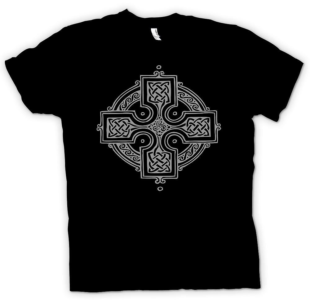 Womens T-shirt - Celtic Cross 2 - tatuering Design