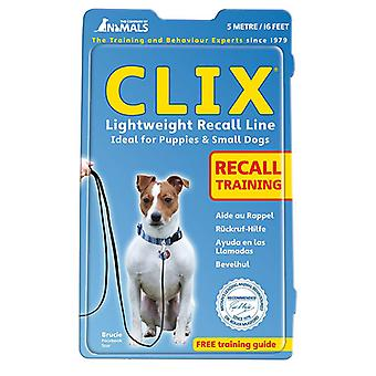 The Company Of Animals Clix Dog Lightweight Recall Line