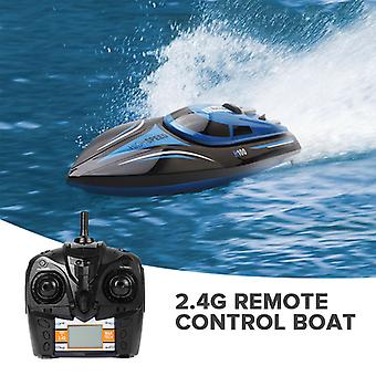 H100 Racing RC Boat - 30km/h, 150M Range, Self-Righting, 4Ch  2.4GHz Wireless Control, 600mAh Battery