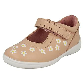 Girls Startrite Casual Flat Shoes Shine - Pink Leather - UK Size 8.5F - EU Size 26 - US Size 9.5