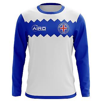 2018-2019 Iceland Long Sleeve Away Concept Football Shirt (Kids)