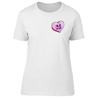 Upperside Be Mine Heart Candy Tee Women's -Image by Shutterstock