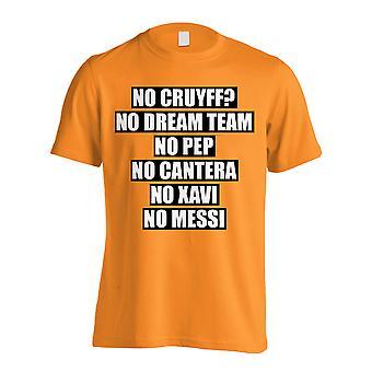 No Cruyff No Dream Team T-shirt (orange)