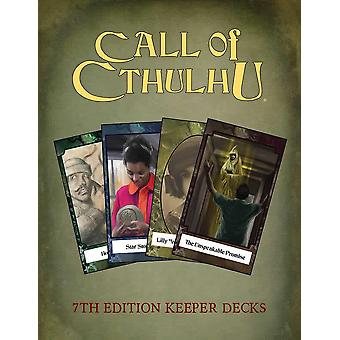 Call of Cthulhu Keeper Decks Card Game