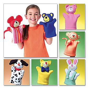 Kids' Hand Puppets-One Size Only -*SEWING PATTERN*