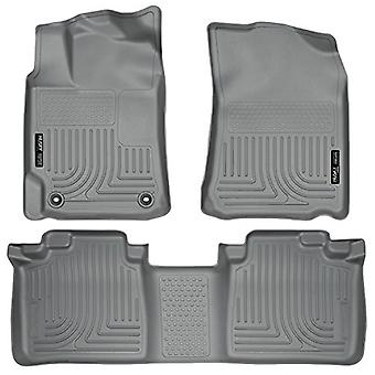 Husky Liners Front & 2nd Seat Floor Liners (Footwell Coverage) Fits 12-17 Camry