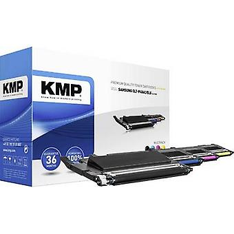 KMP Toner cartridge combo pack replaced Samsung CLT-P406C, CLT-K406S, CLT-C406S, CLT-M406S, CLT-Y406S Compatible Black, Magenta, Cyan, Yellow 1500 pages SA-T53V