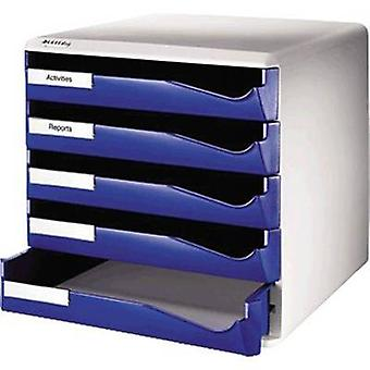 Leitz Desk drawer box 5280-00-35 Blue A4 No. of compartments: 5