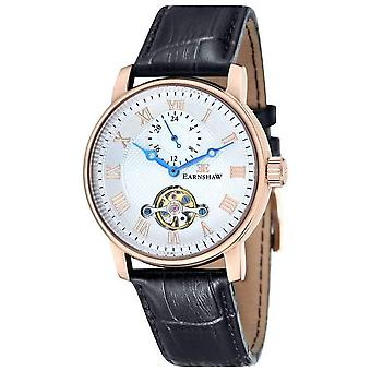 Thomas Earnshaw The Westminster Watch - White/Rose Gold/Black