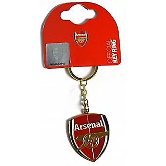 Arsenal Fc Crest Metal / Enamel Keyring