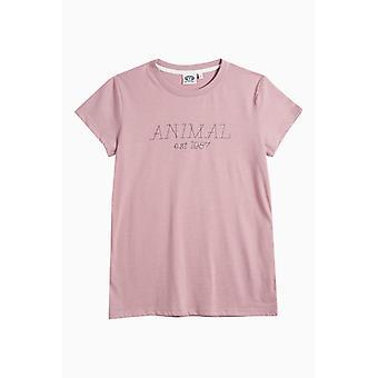 Animaliska Lowgo kort ärm T-Shirt