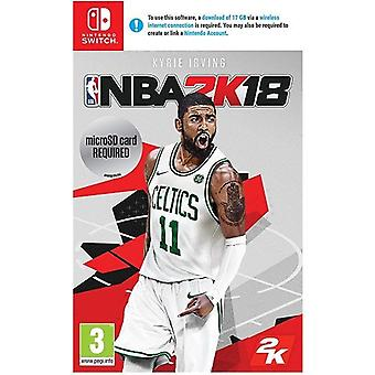 NBA 2K 18 Nintendo Switch Spiel