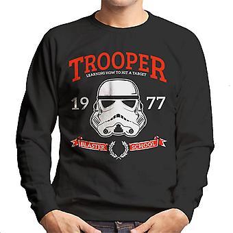 Moletom original Stormtrooper Blaster escola masculina