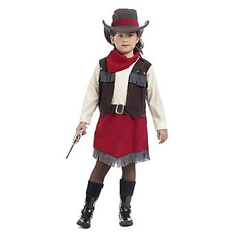 Velam Cowgirl girl costume Western heroine Sheriff child costume