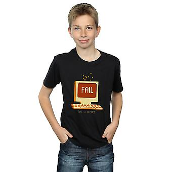 The IT Crowd Boys Fail Screen T-Shirt