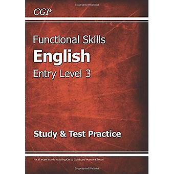 Funktionella färdigheter engelska Entry Level 3 - studie & Test praxis