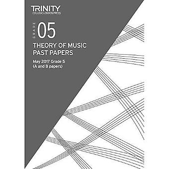 Trinity College London: Past Papers: Theory (May 2017) Grade 5