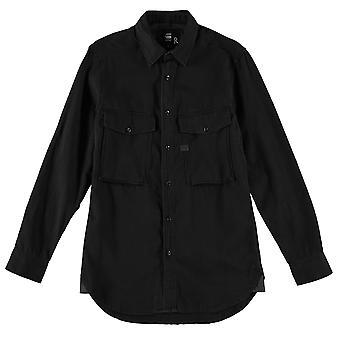 G Star Mens Type C Straight Long Sleeve Shirt