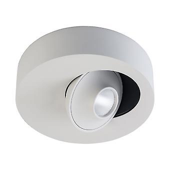 Glasberg - LED Spotlight rond simple en blanc 637016501
