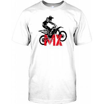 Motocross 100% MX - Dirt Bike Mens T-skjorte