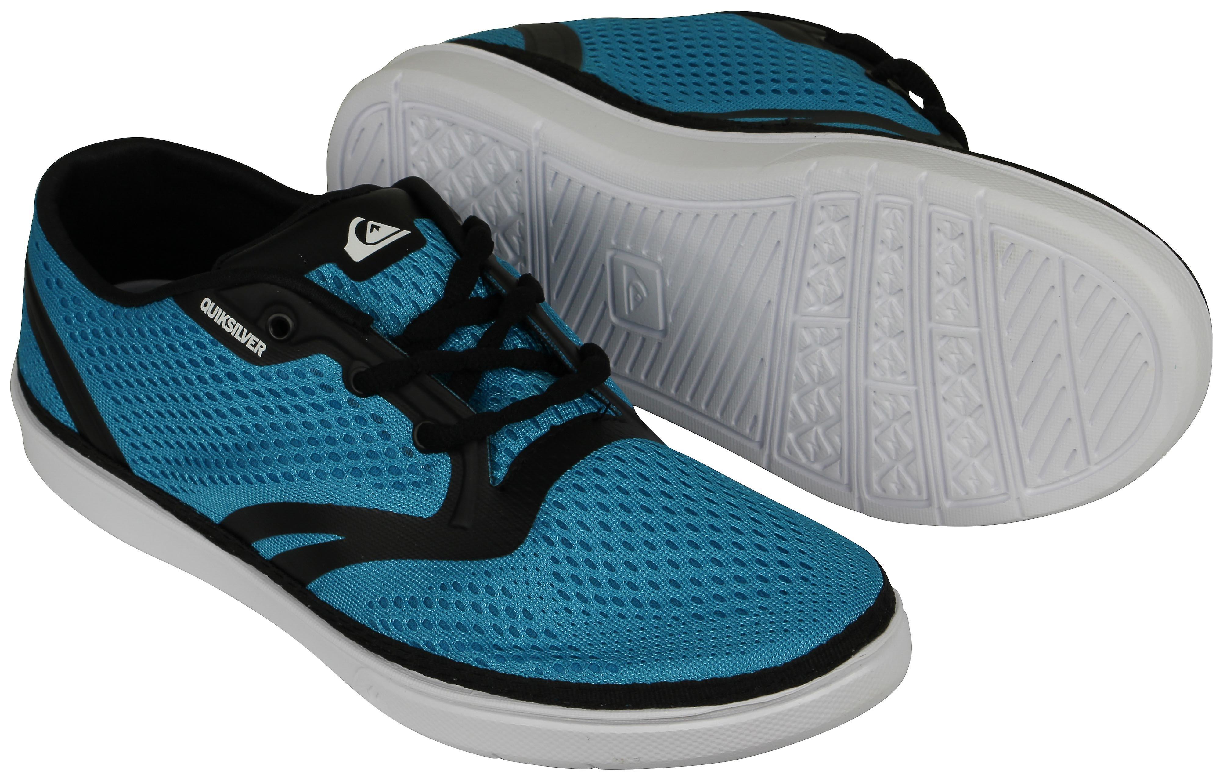 Quikargent Oceanside de Mens chaussures - bleu noir blanc